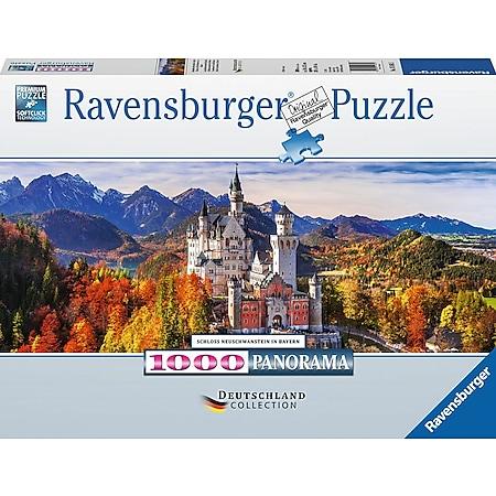Ravensburger 15161 Puzzle: Schloss Neuschwanstein 1000 Teile - Bild 1