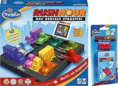 ThinkFun 763702 Rush Hour® inkl. Erweiterungskarten - Bild 1