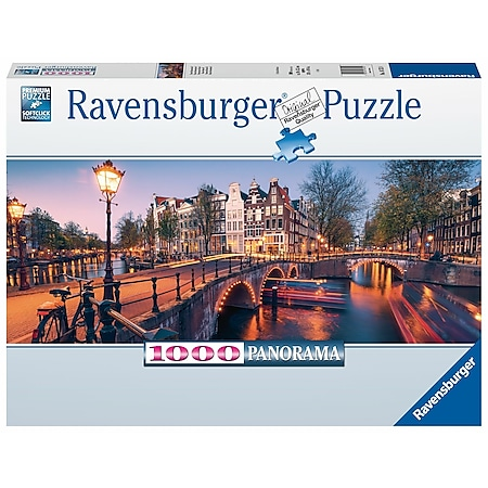 Ravensburger 16752 Puzzle Abend in Amsterdam 1000 Teile - Bild 1