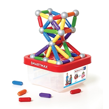 SMARTMAX Collector Box XXL 70-teilig - Magnetspiel in Kunststoffbox - Bild 1
