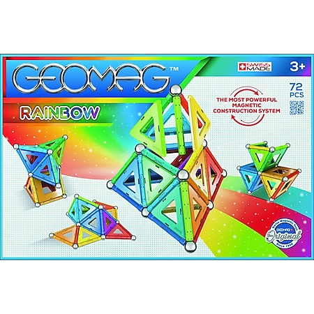 Geomag RAINBOW 72 Teile - Bild 1