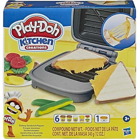 Play-Doh Hasbro E76235L0  Kitchen Creations Sandwichmaker Set - Bild 1