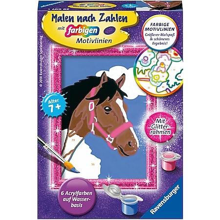 Ravensburger 29607 Malen nach Zahlen Pferd - Bild 1
