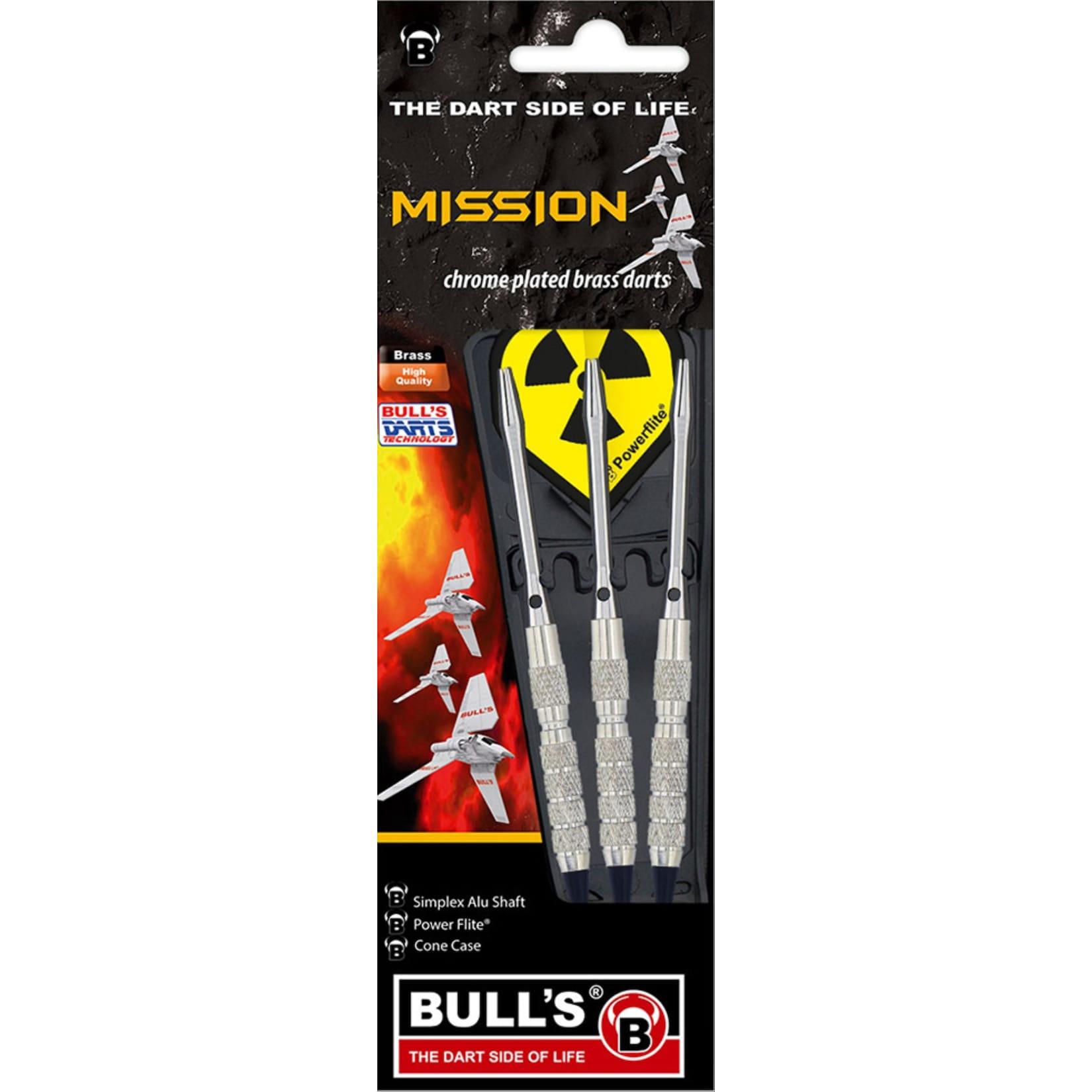 Bulls Bull s 3 Softdart Mission Chr. Brass 14 g