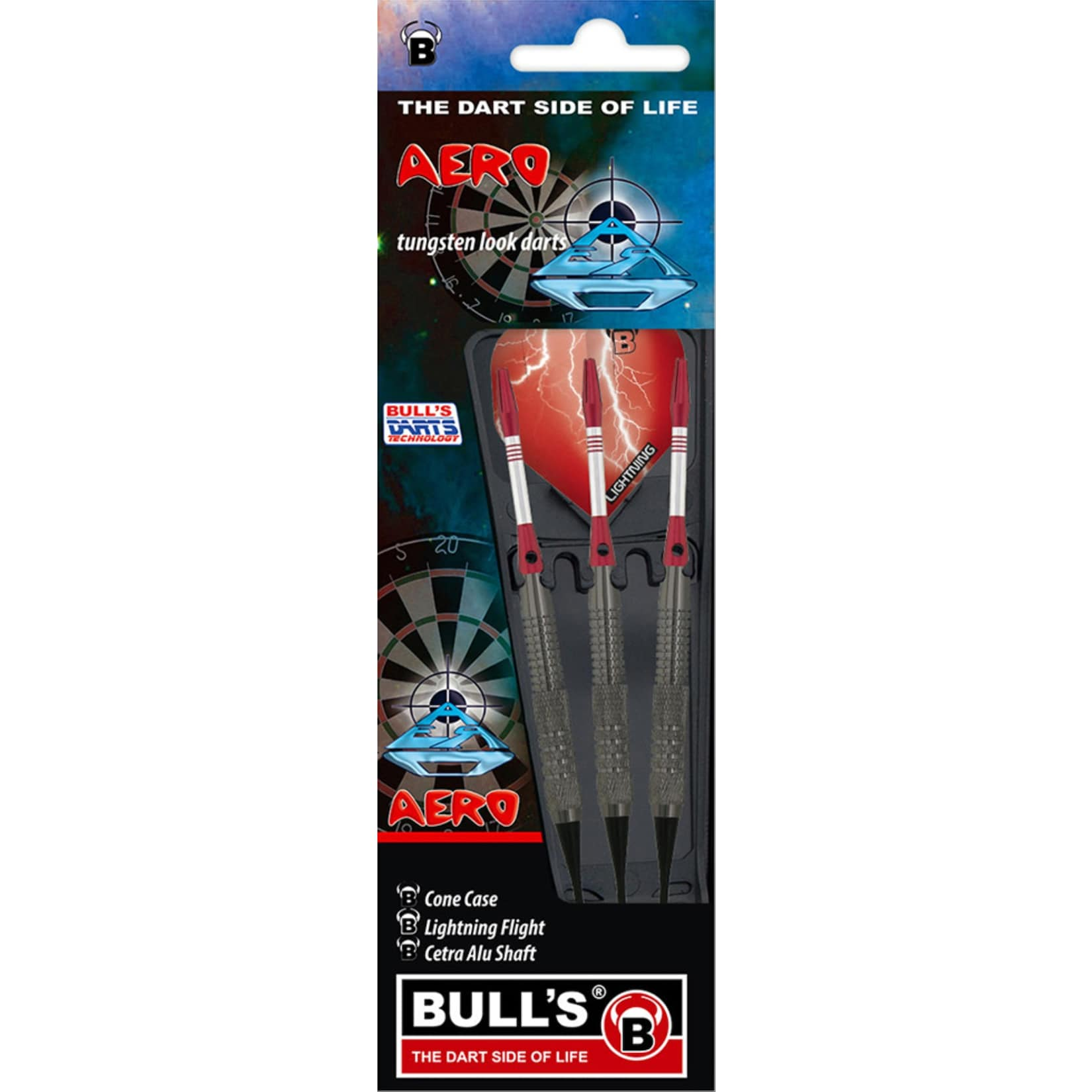 Bulls Bull s 3 Softdart Aero Tunsteel 18 g