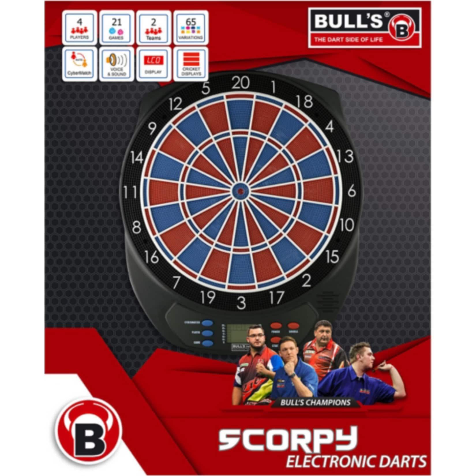 Bulls Bull s E-Dart-Scorpy Zweiloch
