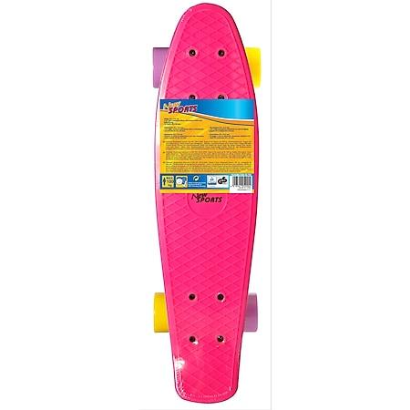 New Sports Kickboard pink, gelb und lila, ABEC 7 - Bild 1