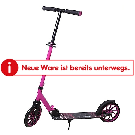 New Sports Scooter Pink/Schwarz, 200 mm, ABEC 7 - Bild 1