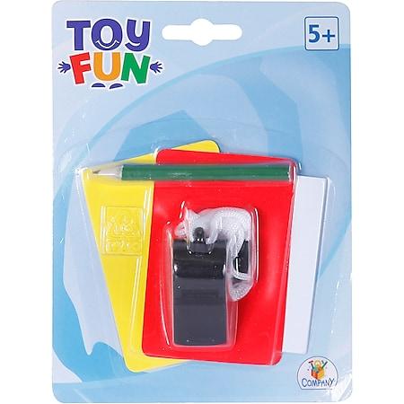 Toy Fun Schiedsrichter-Set, 5-teilig - Bild 1