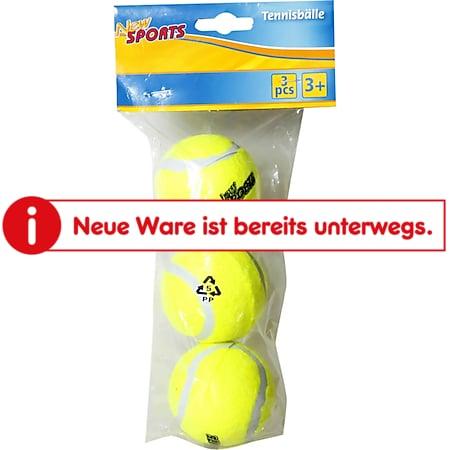 New Sports Tennisbälle, 3 Stück - Bild 1