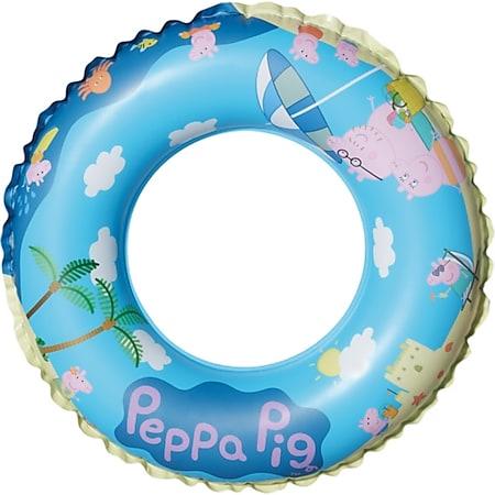 Happy People 16265 Peppa Pig Schwimmring, aufgeblasen ca. 45 cm, - Bild 1