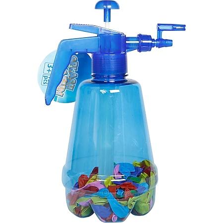 Splash & Fun Wasserbomben-Pumpe inkl. 150 Wasserbomben, blau - Bild 1