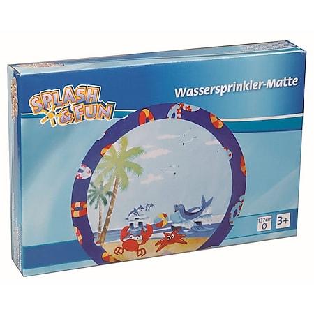 Splash & Fun Wassersprinkler-Matte # 137 cm - Bild 1