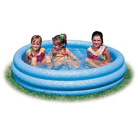 Intex Pool 3-Ring ''Crystalblue'', Wasserbedarf ca 581l, ab 2 Jahre, 168x38cm - Bild 1