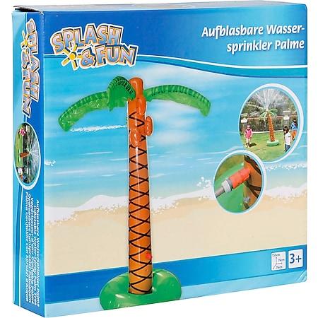 Splash & Fun Wassersprüher ''Palme'', ausblasbar - Bild 1