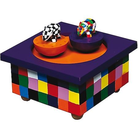 Trousselier SA Holz Spieldose Tanzender Elmer© - Bild 1