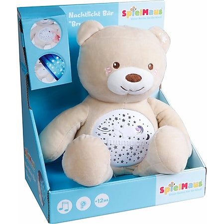 SpielMaus Baby Nachtlicht Teddy ''Bruno'' - Bild 1