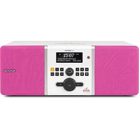 0003/4984 TechniSat DIGITRADIO 305 Schlagerparadies Edition  pink-weiß - Bild 1