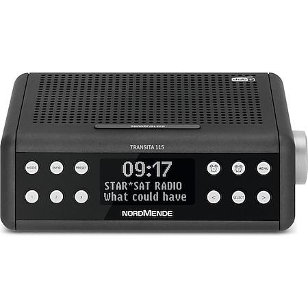 78-3009-00 Nordmende Transita 115 DAB+/UKW-Uhrenradio anthrazit - Bild 1