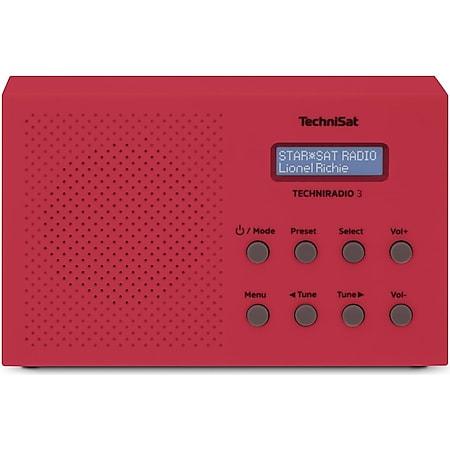 0002/3925 TECHNIRADIO 3 rot - Bild 1