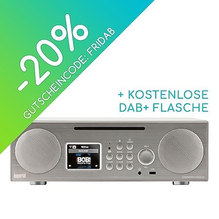 22-248-00 IMPERIAL DABMAN i450 CD (DAB+, UKW und Internetradio, CD Player, diverse Streamingdienste) silber-weiß - Bild 1