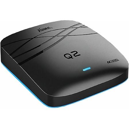 Xsarius Q2 OTT 4K UHD IPTV (Android 7.1, Player H.265, HEVC, MyTV, WLAN, Android-IPTV-Box, Chrome Cast-Funktion, Premium-TV-App, Dream TV) - Bild 1