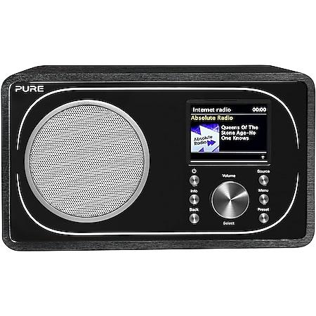 Pure Evoke F3, Black, EU/UK DAB+ , UKW Radio, Internetradio mit 20 Senderspeicherplätzen - Bild 1