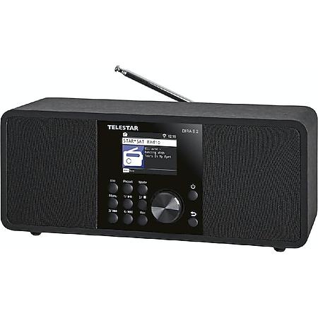 TELESTAR DIRA S 2 Multifunktions-Stereoradio (Digiradio, Hybridradio, DAB+/UKW, USB Musikplayer, UPnP, DLNA und Bluetooth 5.1, TFT LCD Farbdisplay) - Bild 1
