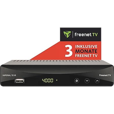 IMPERIAL T2 IR DVB-T2 Receiver inkl. 3 Monate freenet TV¹ - Bild 1