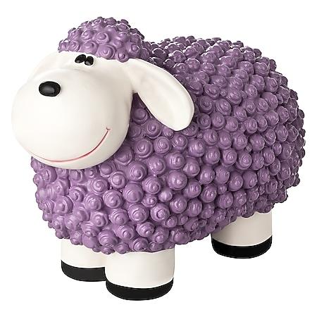 1PLUS Bunte Schafe aus Polyresin,in versch. Farben... Pastell violett - Bild 1