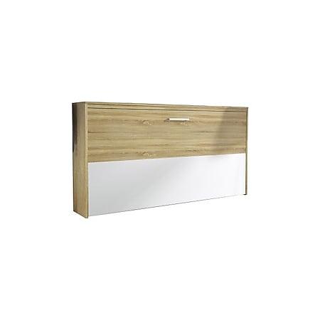 Klappbett Susi inkl. Lattenrahmen + Softclose 90x200 cm sonoma Eiche - weiß - Bild 1