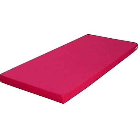 Funktionsbett Clara inkl. ausziehbarer Gästeliege auf 4 Rollen + 3 Schublade 90*200 cm braun - weiß... Bett + Matratze (pink) - Bild 1