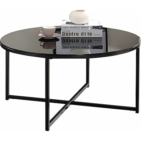 IDIMEX Couchtisch NOELIA rund, Tischplatte in schwarz - Bild 1