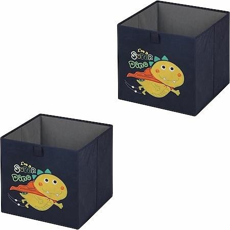 IDIMEX Stoffbox 2er Set DINO-2 - Bild 1