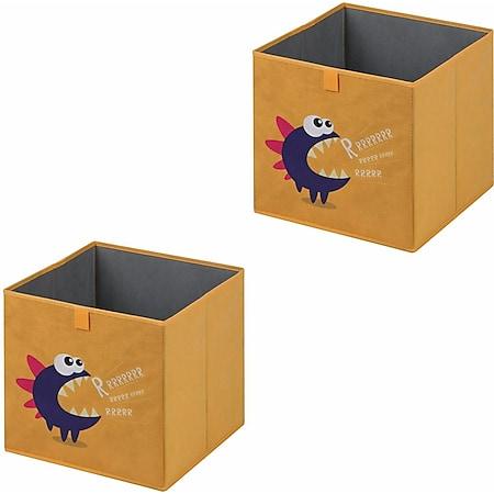 IDIMEX Stoffbox MONSTER-2 faltbar im 2er Pack - Bild 1