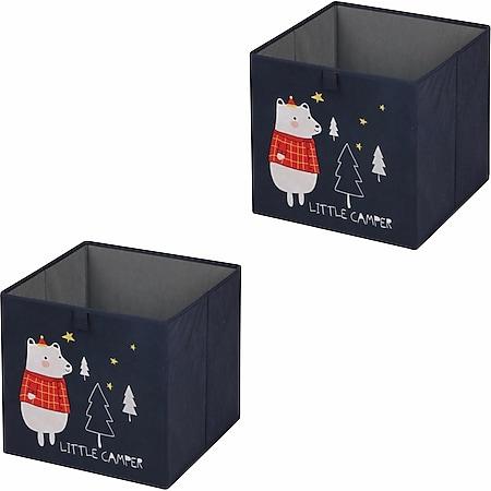 IDIMEX Stoffbox 2er Set BEAR-2 - Bild 1