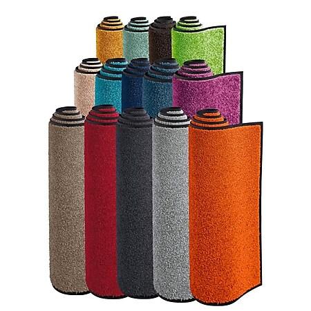 Fußmatte wash+dry Graublau 60 x 90 cm - Bild 1