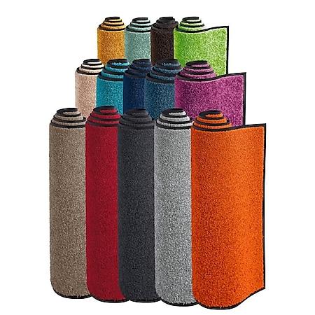 Fußmatte wash+dry Graublau 75 x 190 cm - Bild 1