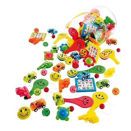 Spiele-Set aus Kunststoff, 112-teilig Kunterbunt - Bild 1