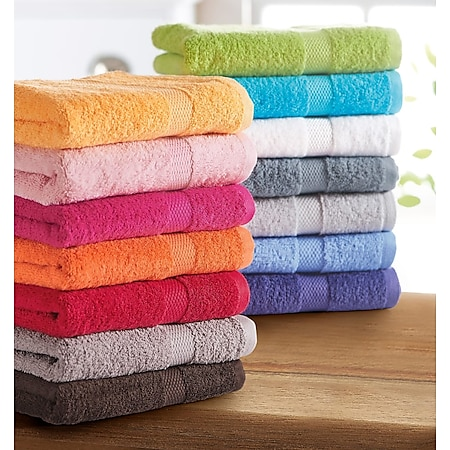 Duschtuch Basic Pink - Bild 1
