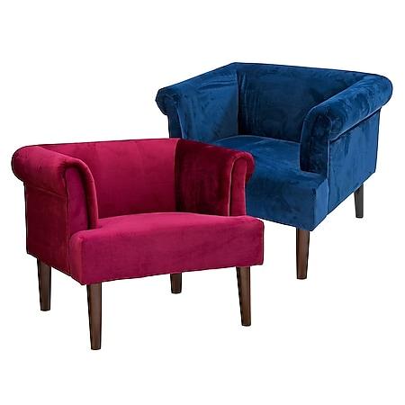 Sessel Opal Dunkelblau - Bild 1