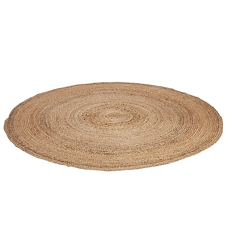 Teppich Tondo Natur Ø 100 cm - Bild 1