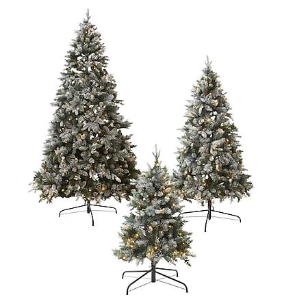 LED-Tannenbaum Schnee groß - Bild 1