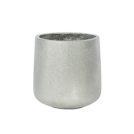 Deko-Übertopf Glamour Silberfarben - Bild 1