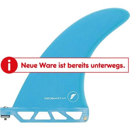 "Futures Performance Fiberglass Finne Blau - US Box Board Größe: 6.0"" - Bild 1"