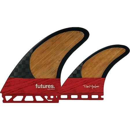 "Futures 5.6"" Machado Blackstix Twin Finnen Set - Future Box - Bild 1"