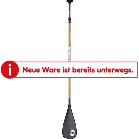 Light Vario Endurance Race Carbon / Bamboo SUP Paddel - Bild 1