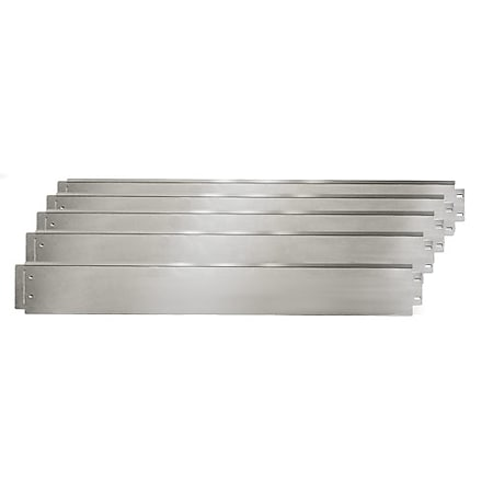 Rasenkante 5m 50m100x18cm verzinkt Beeteinfassung Beetumrandung Mähkante Metall Palisade - Bild 1