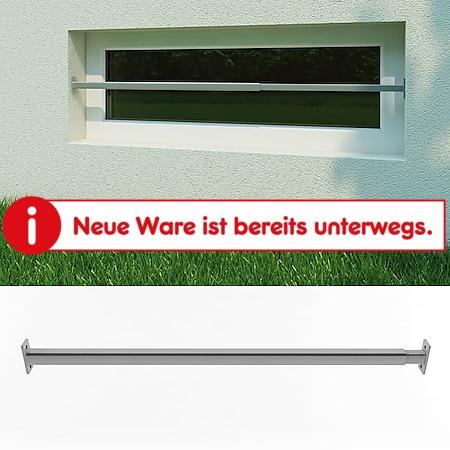 Fenstergitter Sicherheitsgitter Fenster Einbruchschutz Gitter 710-1200mm - Bild 1
