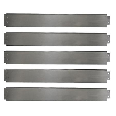 Rasenkante 25m 100x14cm verzinkt Beeteinfassung Beetumrandung Mähkante Metall Palisade - Bild 1
